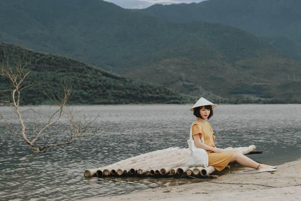 Khung cảnh thiên nhiên đẹp tuyệt vời. Hình: Hoàng Linh Hà