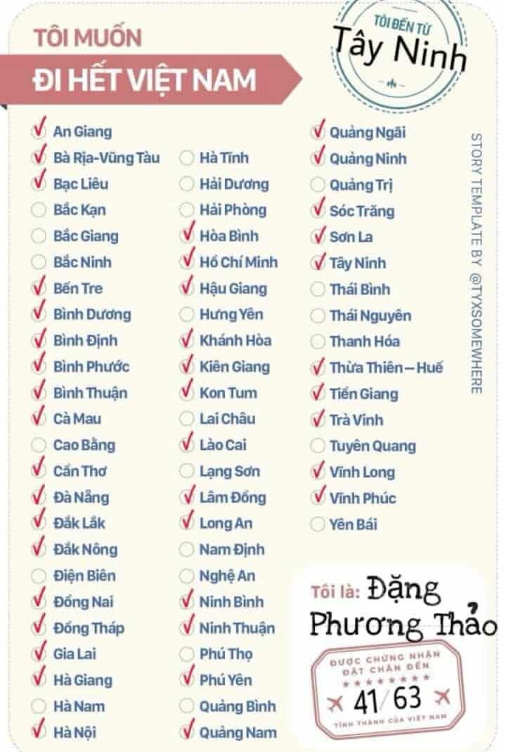 Bạn đã khám phá được những địa danh nào? Bạn đã đặc chân đến những đâu ở Việt Nam? Cùng chia sẻ nha!