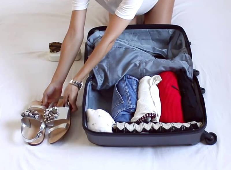 Sắp xếp hành lý sao cho thật gọn gàng và khoa học