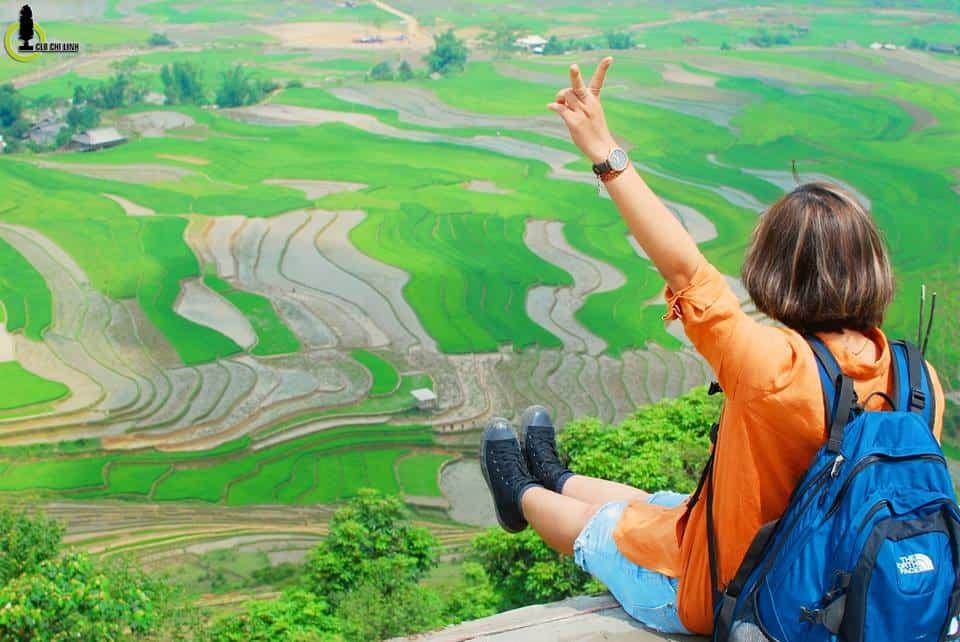 Check-in cùng mùa nước đổ. Hình: Nguyễn Chí Nam
