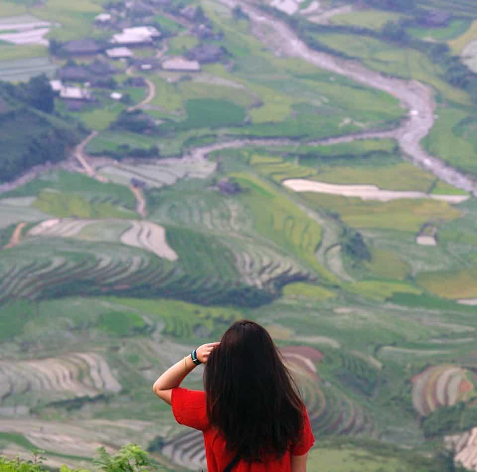 Background hoàn hảo cho những bức hình đẹp. Hình: Nguyễn Chí Nam