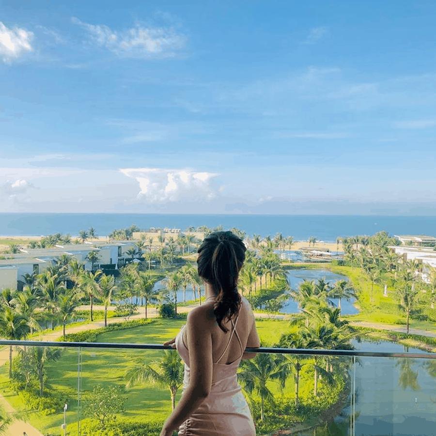 Thiên đường nghỉ dưỡng tại biển Hồ Tràm. Hình: Sưu tầm