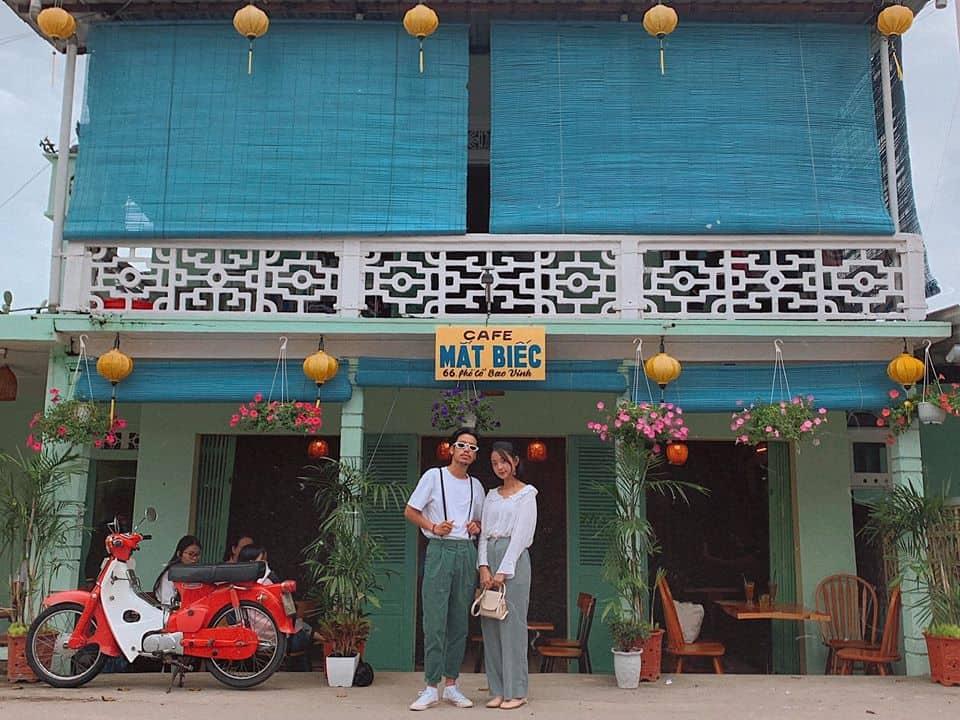 Quán cafe Mắt Biếc. Hình: Bùi Huy Khang