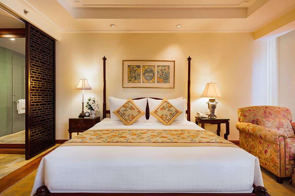Phòng nghỉ tại Indochine Palace.