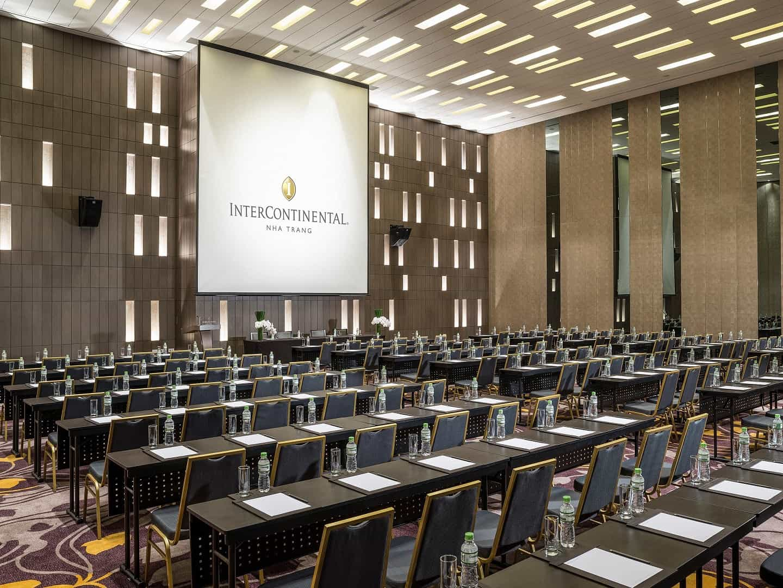 Phòng hội nghị tại InterContinental Nha Trang. Hình: InterContinental Nha Trang