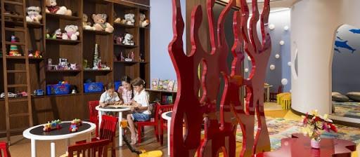 Khu vực giải trí để các bé tự do vui chơi, khám phá. Hình: InterContinental Nha Trang