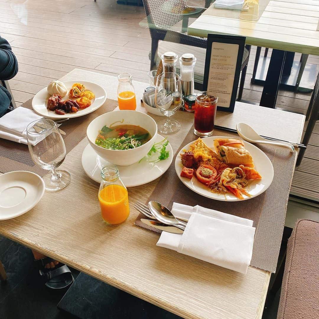 Bạn có thể thưởng thức những bữa ăn đơn giản. Hình: Instagram @jhby_love