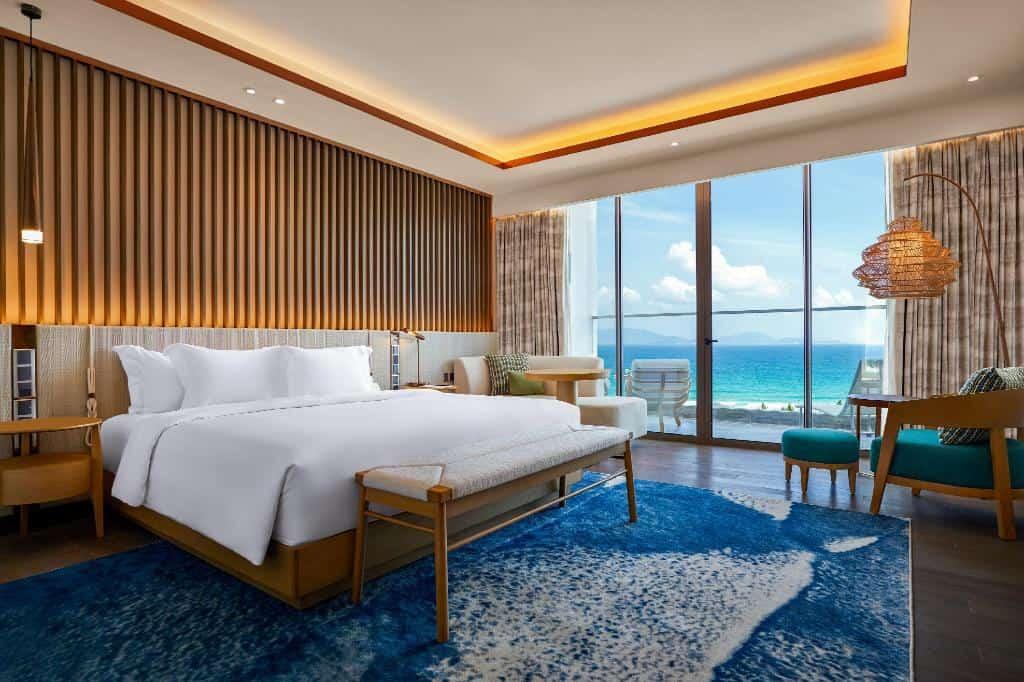 Không gian các phòng khách sạn được thiết kế sang trọng trang nhã