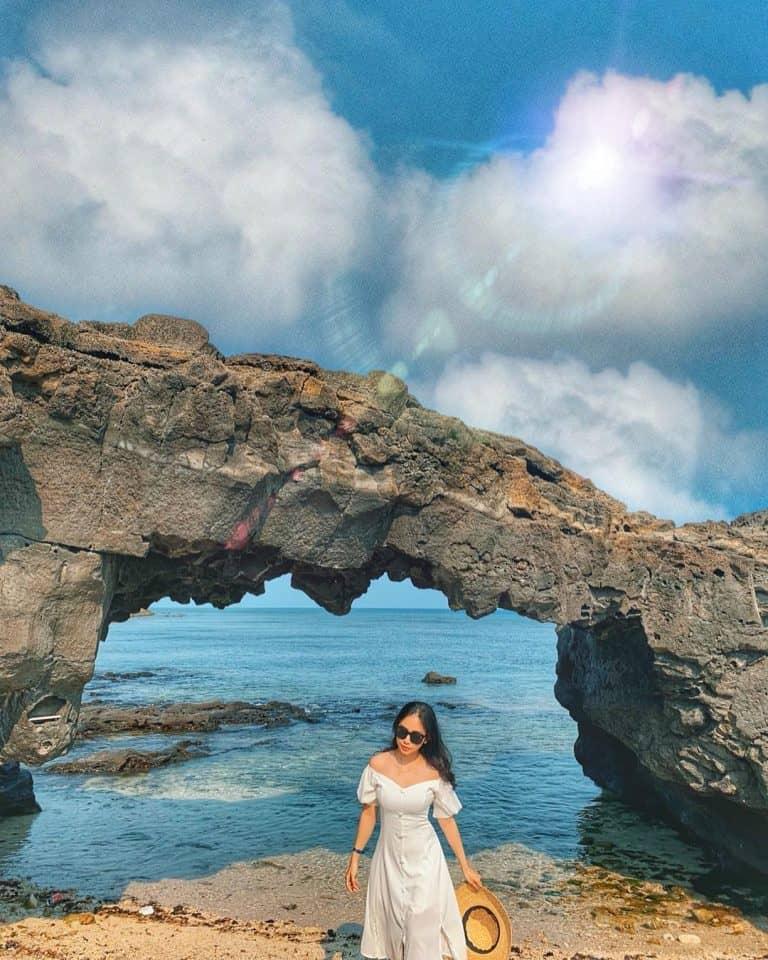 Cổng Tò Vò – đảo Lý Sơn. Hình: @honguyenkhanhlin