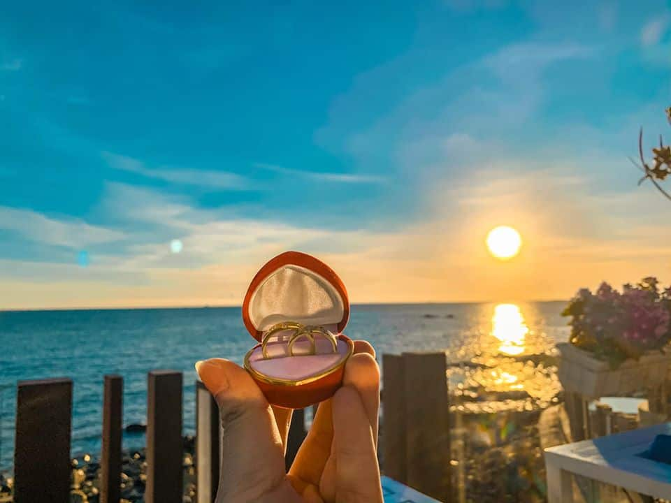 Mariana Club là một địa điểm ngắm hoàng hôn nhuốm màu thơ mộng ở Vũng Tàu