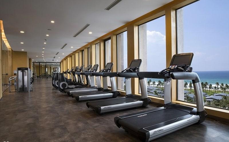 Phòng tập Gym tại Radisson Blu Resort Cam Ranh