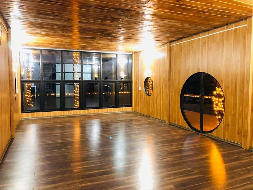 Tất cả đều được sử dụng vật liệu gỗ. Hình: Facebook Pu Nhi Farm