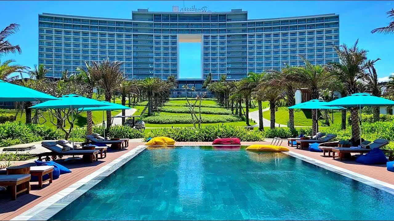 Radisson Blu Resort Cam Ranh với lối kiến trúc độc đáo và vị trí tuyệt hảo