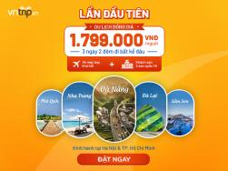 Combo Du lịch đồng giá: Đi khắp Việt Nam chỉ 1799k
