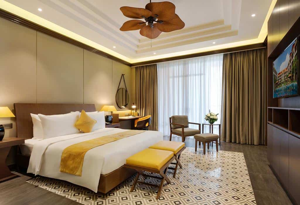 Phòng nghỉ tại Senna Hue Hotel