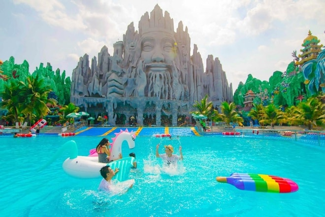 Tận hưởng mùa hè sôi động bên gia đình ở Suối Tiên