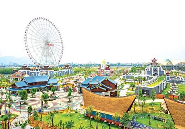Đi 10 nước ở Châu Á trong một ngày chỉ có Asia Park mới làm được