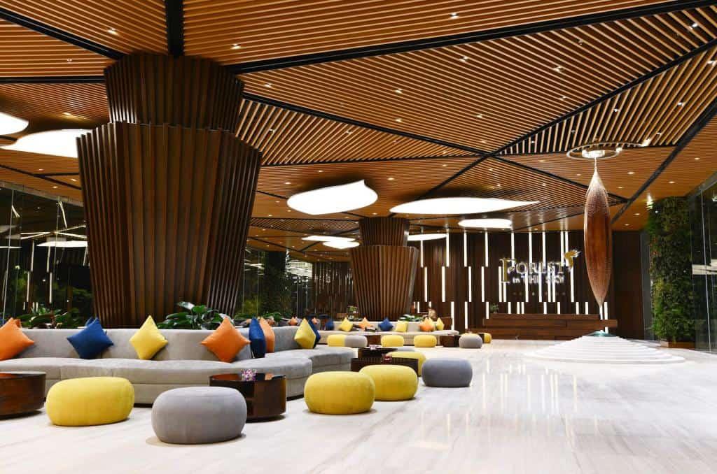 Không gian với thiết kế ấn tượng tại sảnh chờ Garden Wing