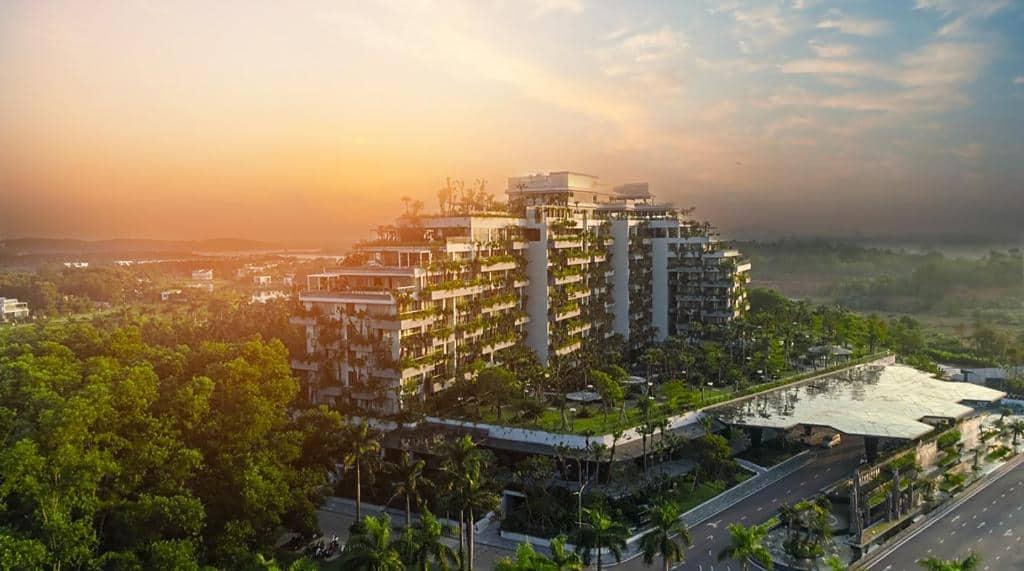 Review Forest in the Sky – kiệt tác nghỉ dưỡng tại Flamingo Đại Lải