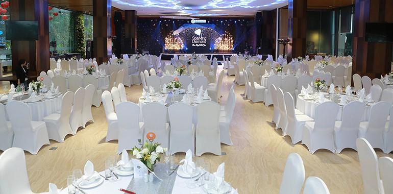 Phòng hội nghị quy mô lớn phù hợp mọi yêu cầu của du khách