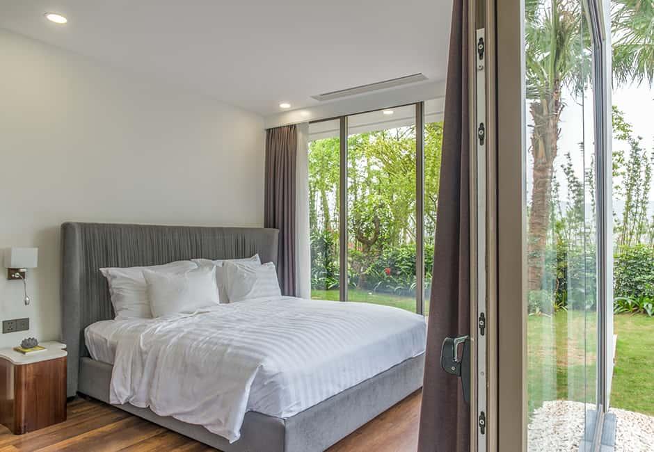 Phòng ngủ nào cũng kết nối với thiên nhiên xanh mát