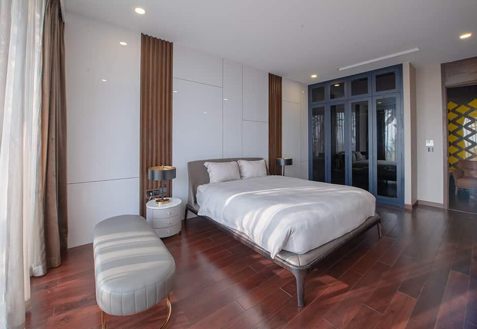 Phòng ngủ tối giản nhưng hiện đại