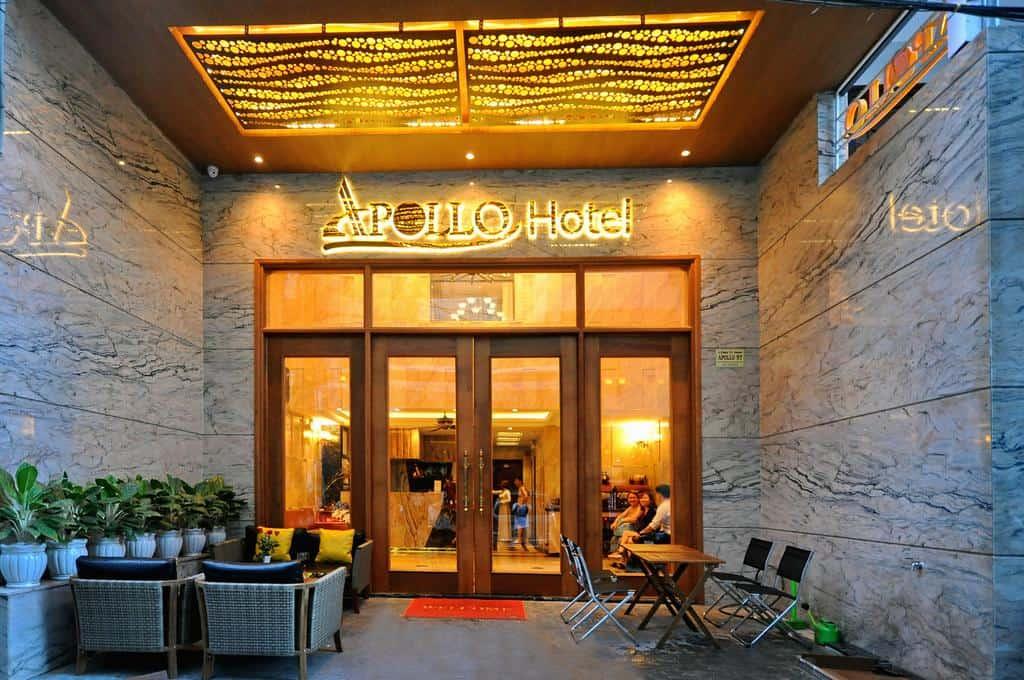 Không gian ấn tượng khi du khách bước chân đến Apollo Hotel Nha Trang