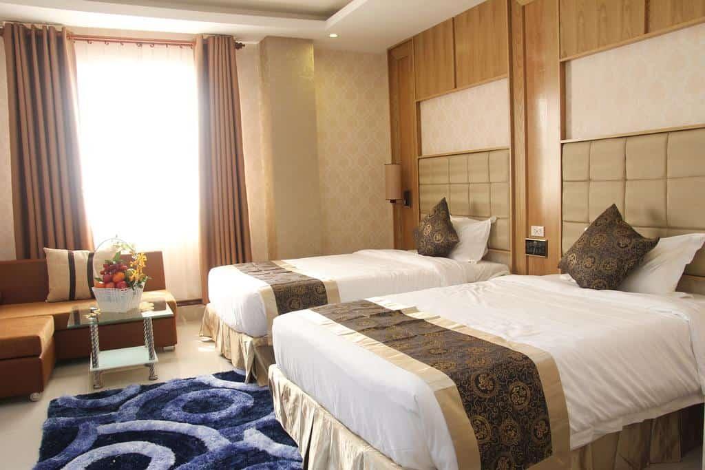 Phòng Deluxe Double với 2 giường đơn với tiện ích đa dạng