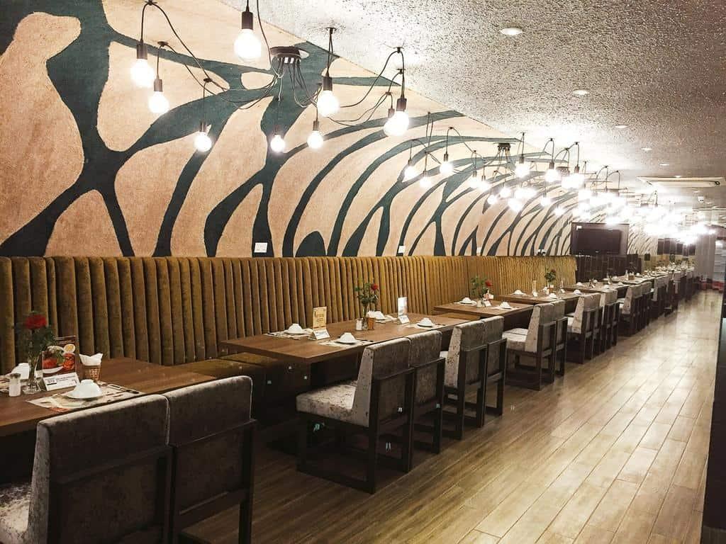 Nhà hàng hình KP Restaurant thiết kế và trang trí vô cùng độc đáo