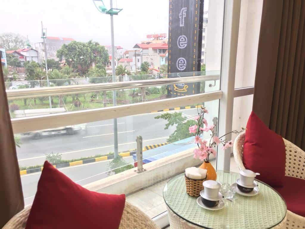 View nhìn từ phòng nghỉ của khách sạn