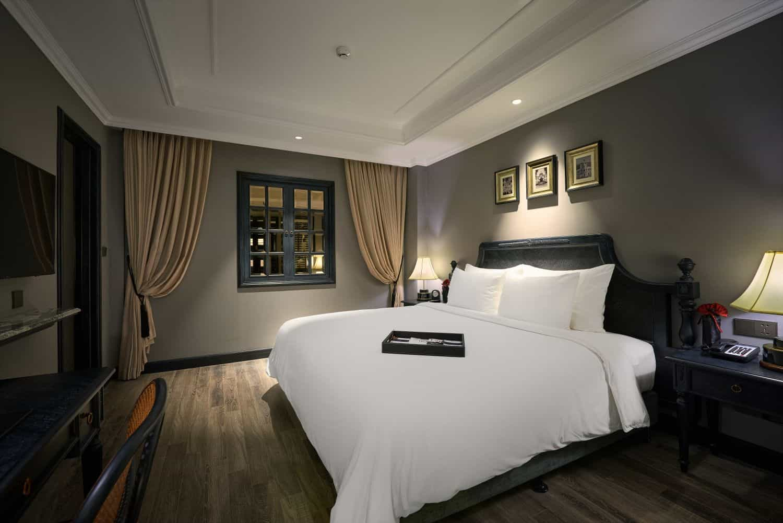 Phòng Superior với không gian nhỏ, ấm cúng và tiện nghi