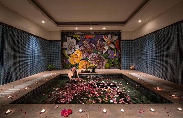 Không gian spa tuyệt vời cho du khách.