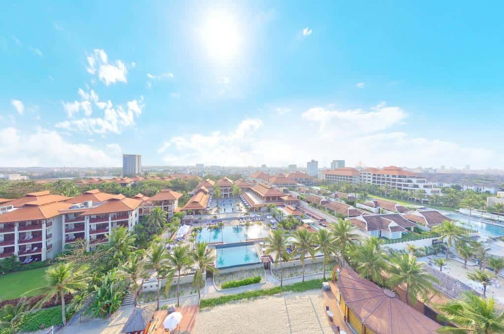 Hình ảnh Furama Resort Đà Nẵng khi nhìn từ trên cao