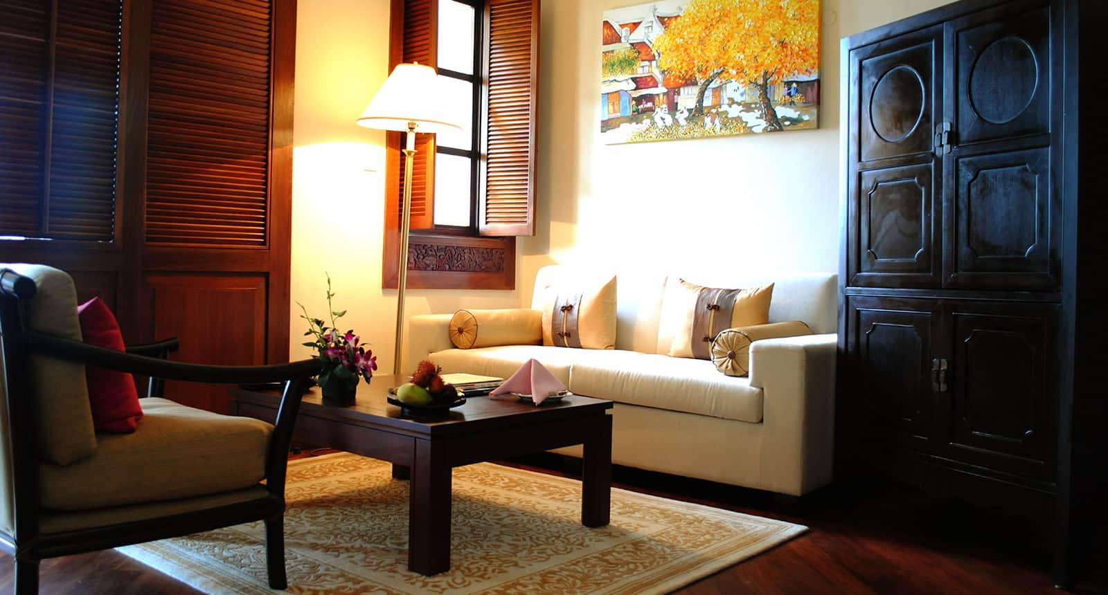 Từng chi tiết được chăm chút để tạo cảm giác ấm cúng, tiện nghi như ở nhà