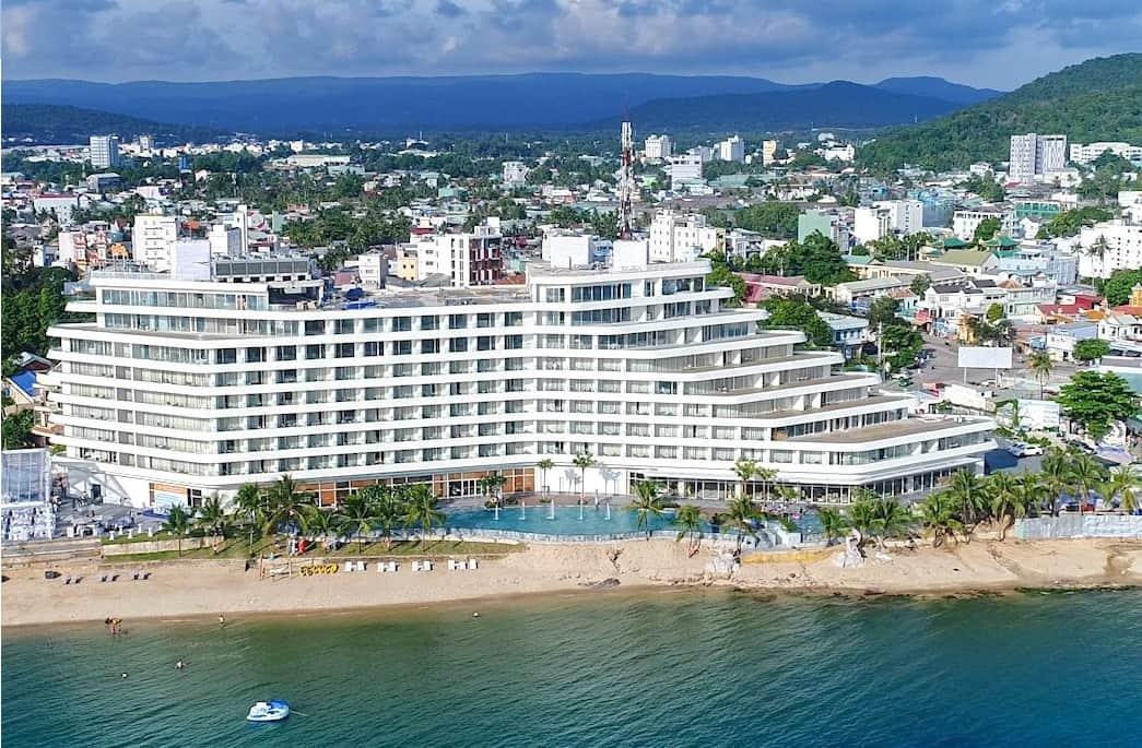 Kiến trúc ấn tượng của Seashells Hotel and Spa Phú Quốc