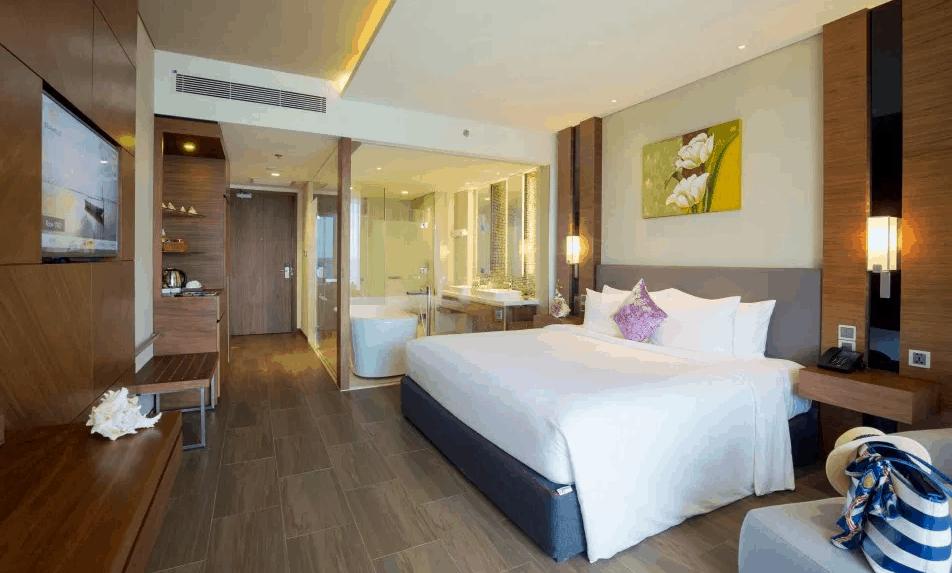 Không gian phù hợp cho kỳ nghỉ ấm áp và lãng mạn của các cặp đôi. Nguồn ảnh: seashellshotel.vn