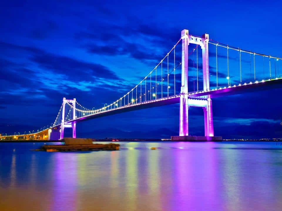 Cầu Thuận cây cầu dài nhất Việt Nam - Ảnh ST