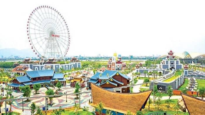 Công viên Asia Park khu giải trí cực hot ở Đà Nẵng - Ảnh ST