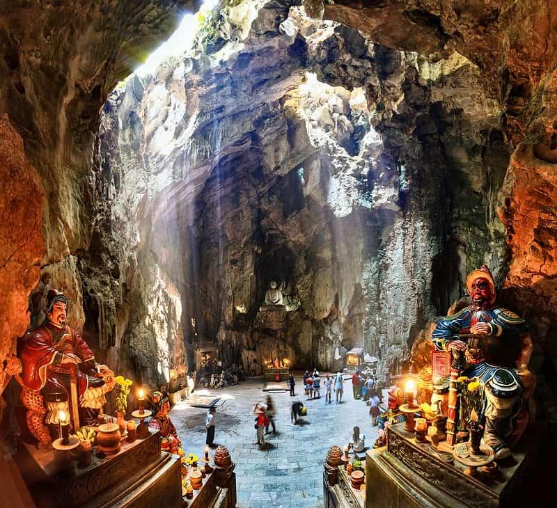 Ngũ Hành Sơn - Địa điểm du lịch tâm linh tại Đà Nẵng - Nguồn ảnh: Internet