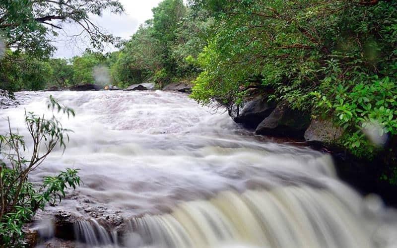 Suối Đá Ngọn mùa mưa. Hình: Sưu tầm