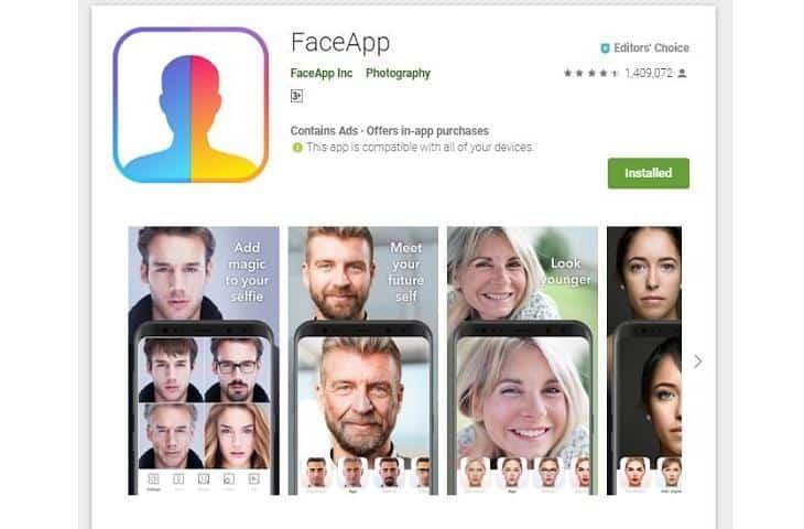 """Face App ứng dụng """"chuyển đổi giới tính"""" đang là trend hot hiện nay"""
