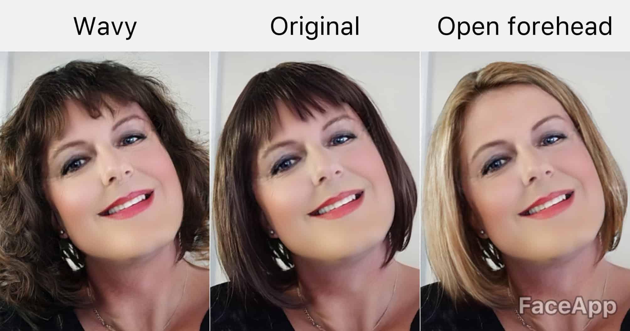 Thử làm mới mình bằng cách thay đổi màu tóc trên FaceApp - Nguồn ảnh: Internet