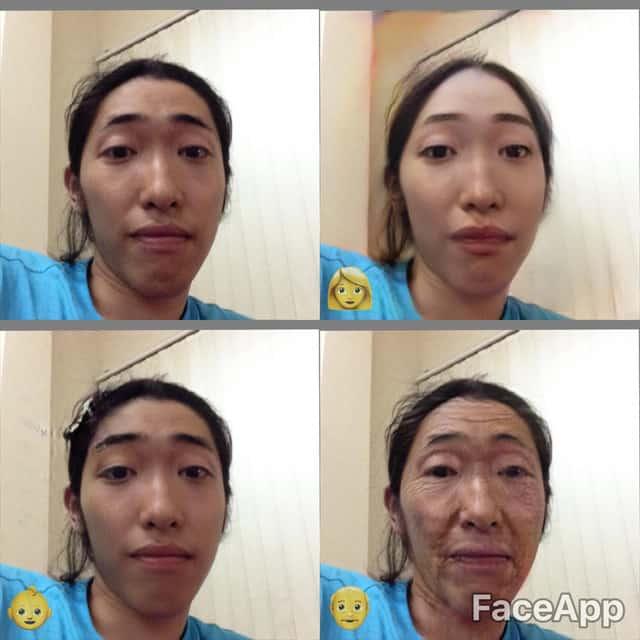 Giới trẻ thích thú với chức năng thay đổi khuôn mặt - Nguồn ảnh: Internet
