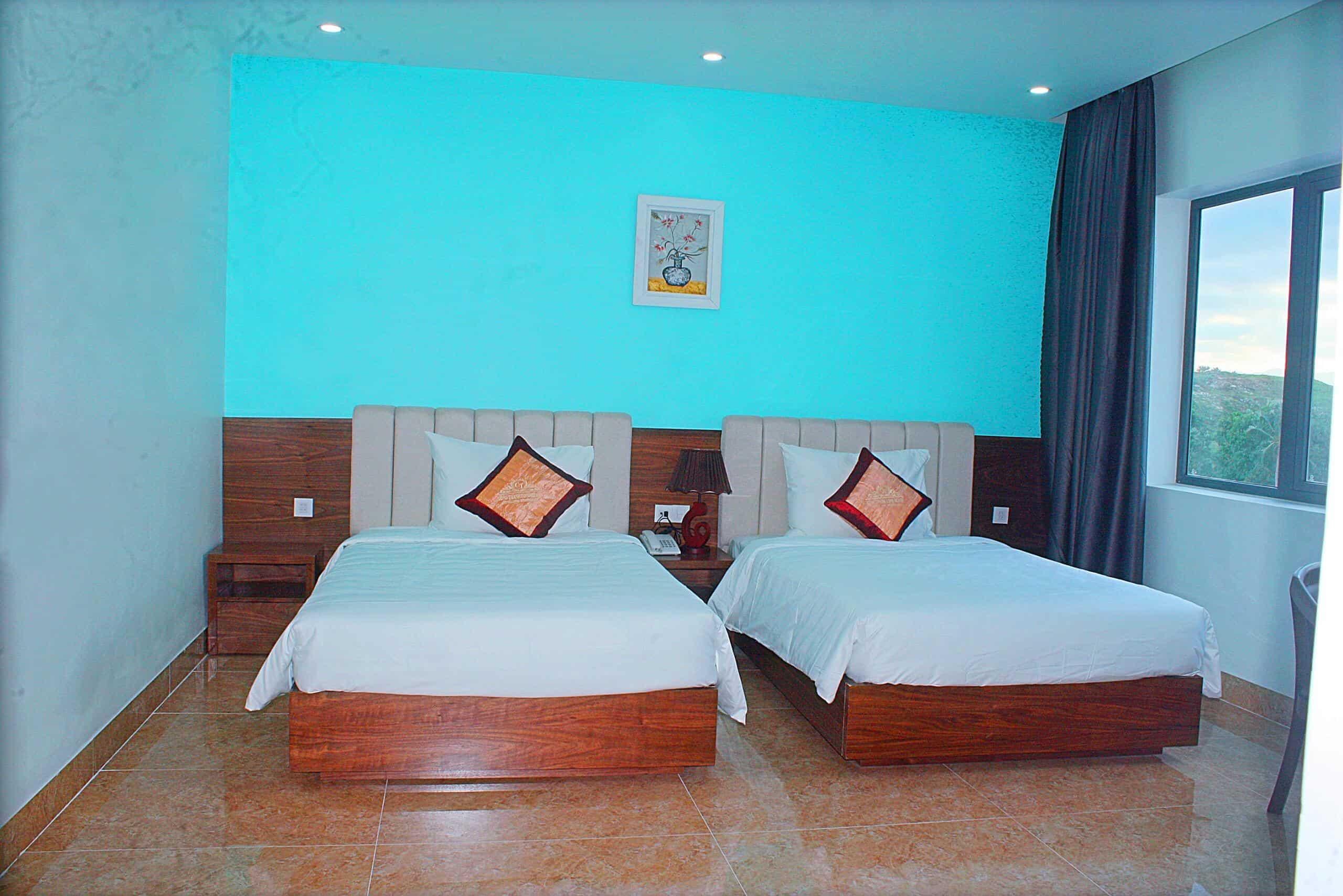 Thiết kế các phòng ngủ đảm bảo thoáng mát và đầy đủ tiện nghi