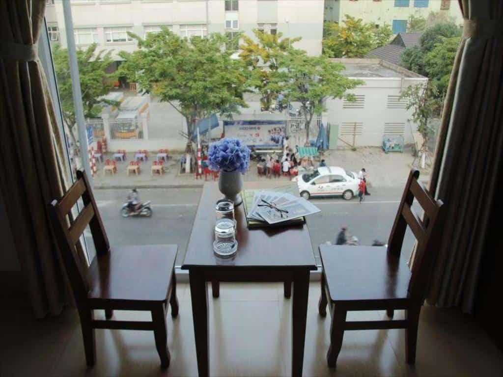 Một góc nhìn từ phòng của Hương Bình Hotel
