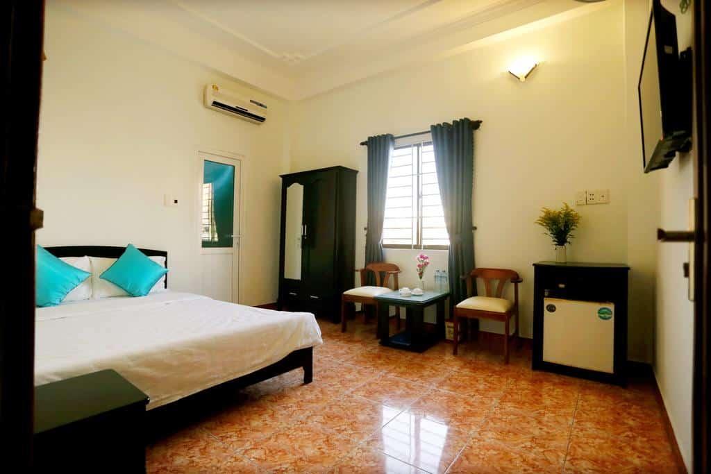 Thiết kế phòng đơn của Dana Home Hotel