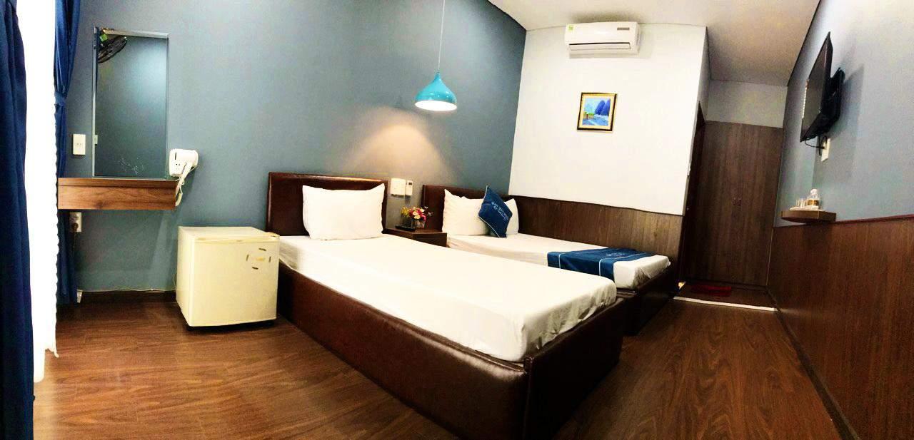 Không gian ấm cúng bên trong phòng nghỉ