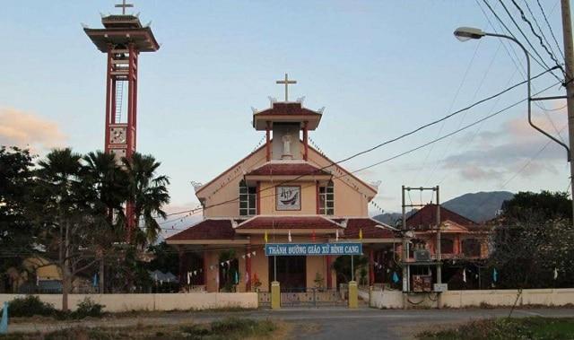 Nhà thờ Bình Cang Nha Trang