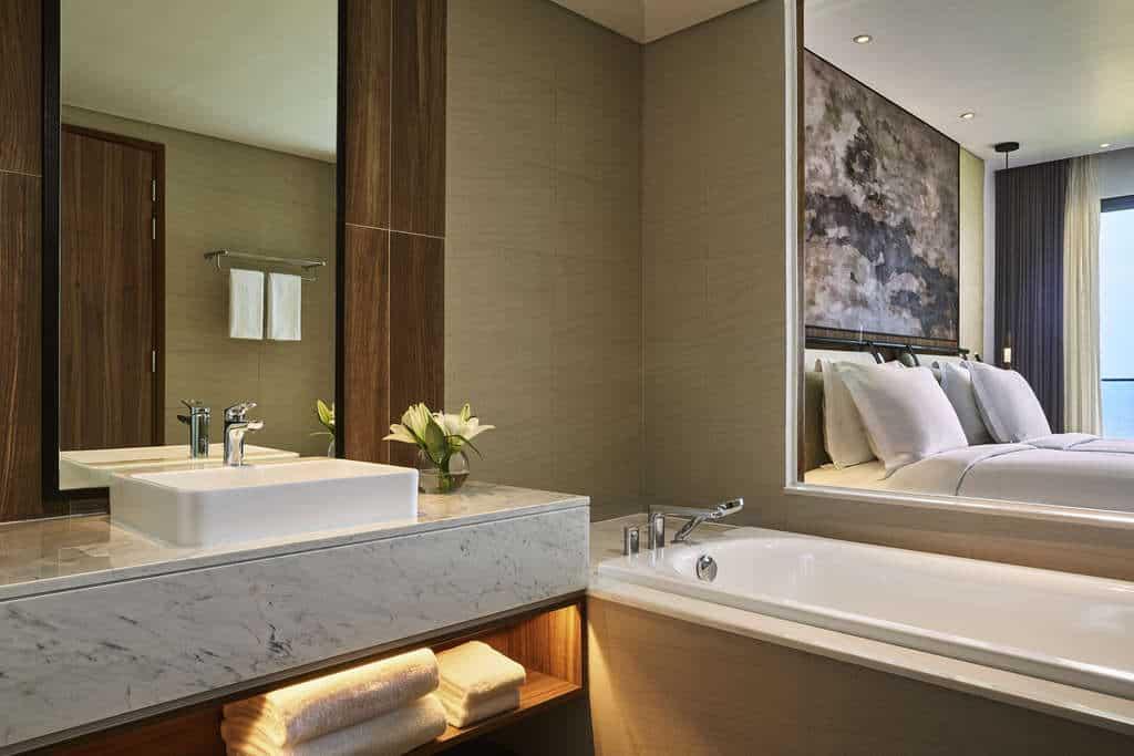 Thiết kế phòng nghỉ tiện nghi để trân trọng mọi giác quan của du khách