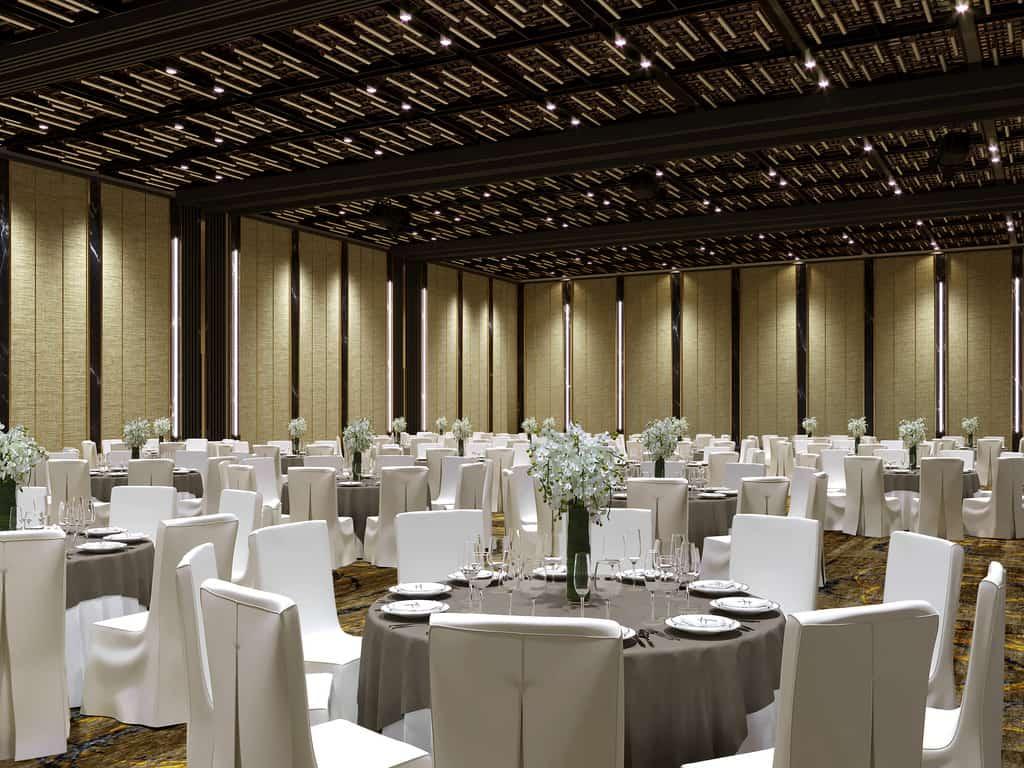 Phòng sự kiện xa hoa và lộng lẫy phù hợp cho mọi sự kiện của du khách